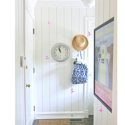 5 Tips For A Bright, Beachy Mudroom