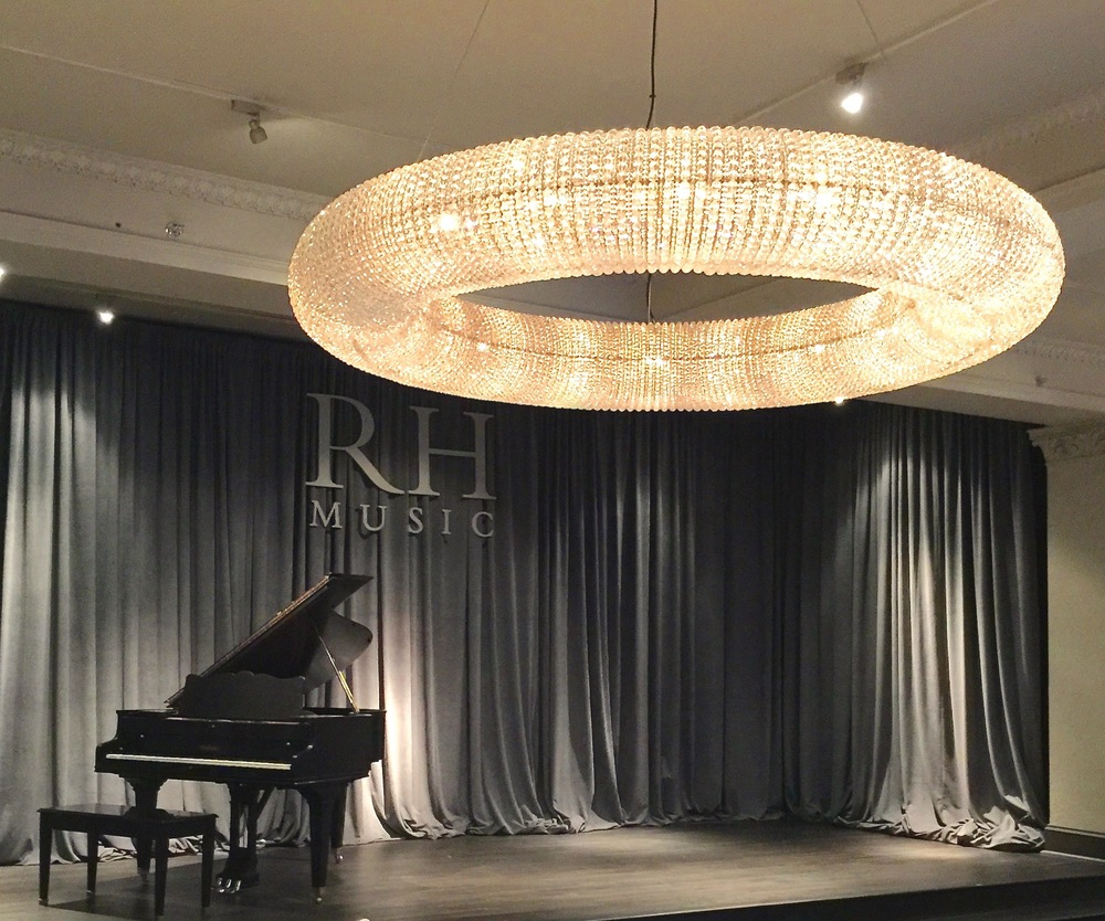 An Afternoon at Restoration Hardware Chicago's Gallery at the Three Arts Club